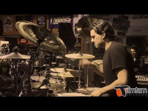 "Manu Reyes Jr. ""Sôber"" Masterclass en TamTam Percusion 2015"