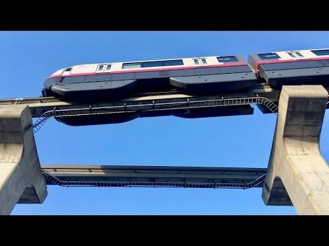 Okinawa City Monorail, Naha Japan - Time Lapse