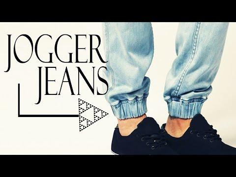 Transforma Jeans En Jogger Diy Para Hombre O Mujer Youtube