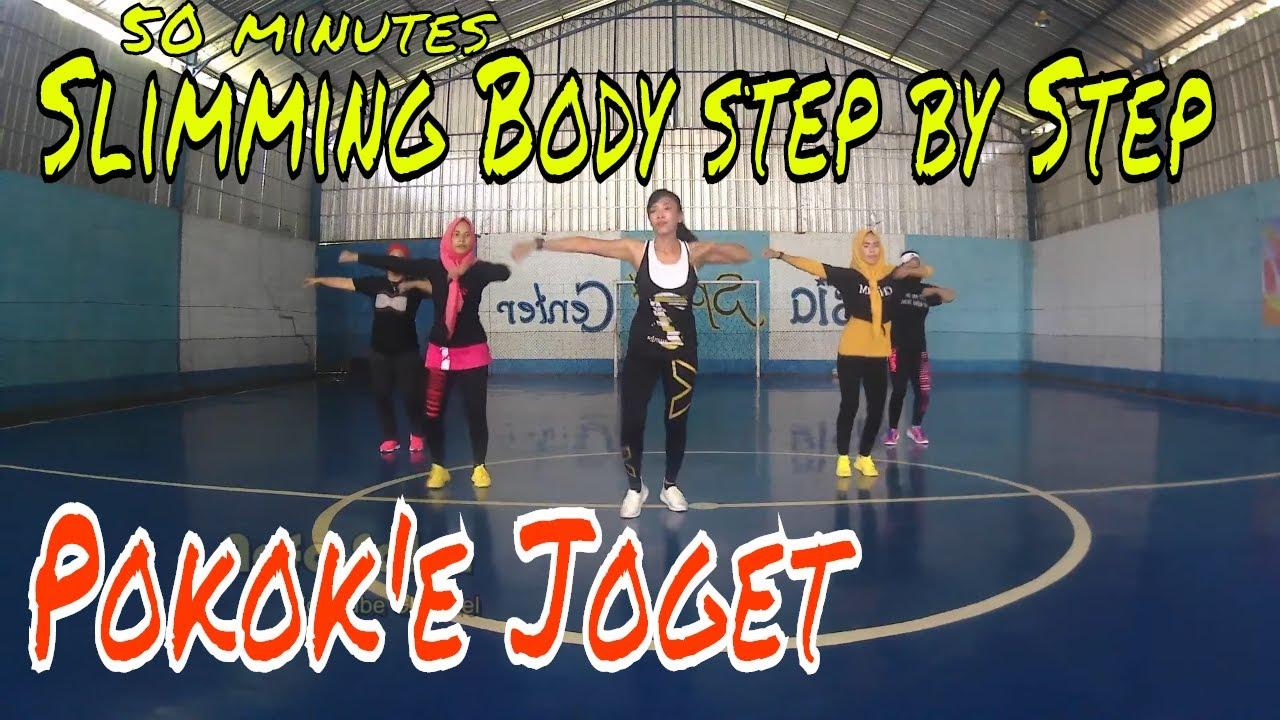 50 Menit Senam Aerobic Dance Melangsingkan badan step by step l Lagu senam aerobik l Nofa Salsa