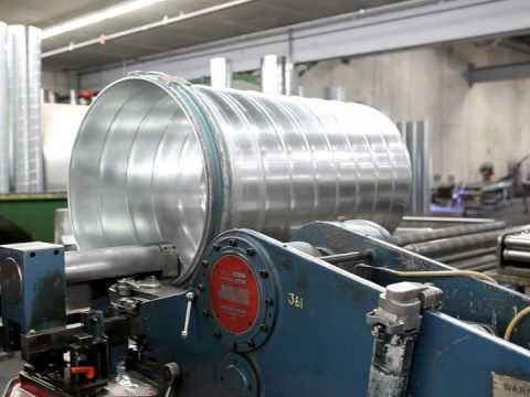 Spiral Pipe Ductwork Hvac How It S Made In The U S A