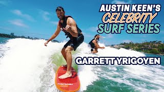 Garrett Yrigoyen Accepts Final Rose for a Shred Session on Celebrity Surf Series
