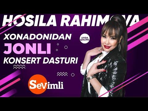 HOSILA RAHIMOVA Xonadonidan LIVE Konsert Dasturi! 2020