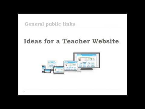 teacher web ideas