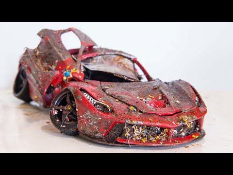Ferrari LaFerrari Restoration Abandoned Model Car