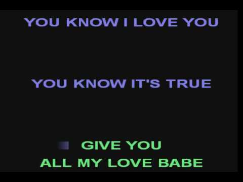 Walking by myself Gary Moore KARAOKE BASE DEMO SOUNDFONT