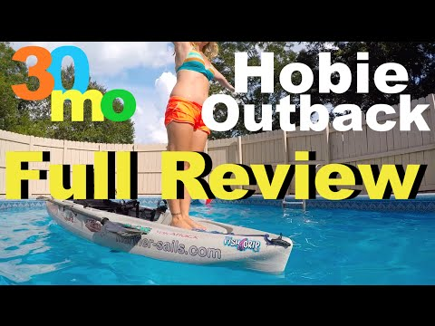 2016 Hobie Outback Review for Kayak Fishing