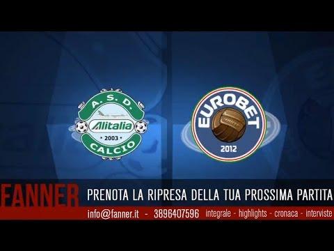 [Integrale] A - 24^ - Alitalia Calcio VS Eurobet Palermo - legacalcioa8.it