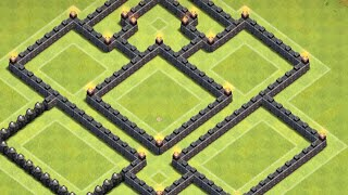 Clash of Clans BEST TH7 Farming Base/Dark Elixir Speed Build