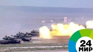 Парад в Казахстане: военные продемонстрировали боевую мощь республики - МИР 24