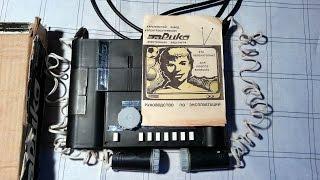 Приставка Эврика СССР Обзор Pong Type Console USSR Rare