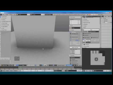 Blender Ambient Occlusion Baking Tutorial