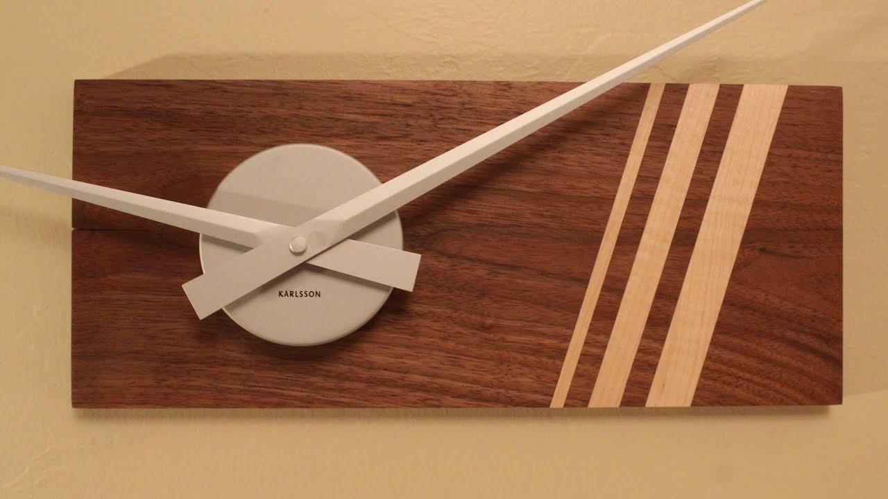 Diy Modern Minimalist Wooden Clock