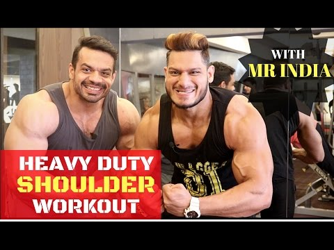 COMPLETE SHOULDER WORKOUT | MR INDIA PHYSIQUE | INSANE PUMP