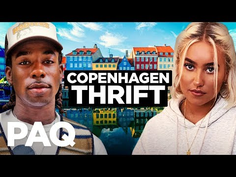 Thrifting In Copenhagen (in 1 Day!)