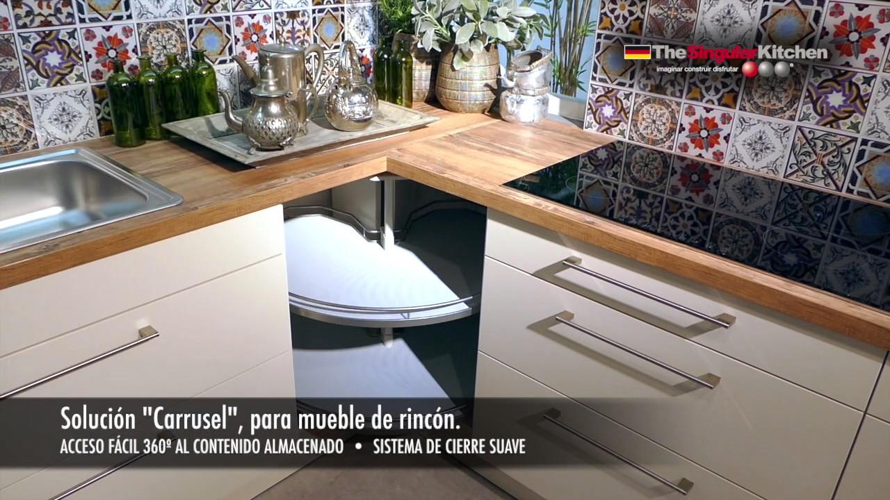 MUEBLES DE COCINA: SOLUCIONES DE RINCON - YouTube