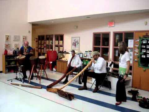 Didgeridoo & Drums Presentation at Annsworth Academy 2012 - Video Five