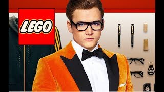 How to make a LEGO Eggsy from Kingsman 2