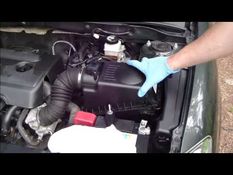 How To Change Air Filter Toyota Corolla Vvti Engine