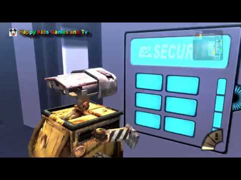 Disney - Pixar - WALL . E - Episode 13 - Best Games For Kids - Happy Kids Games And Tv - 1080p