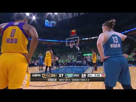 Candace Parker Full Game 5 Highlights vs Minnesota Lynx - 10.20.16