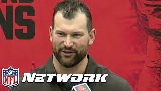 Joe Thomas Roasts his Former Coaches & Teammates in Retirement Speech 😂   NFL Network