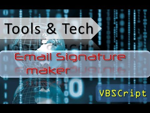 Outlook 365 email signature generator