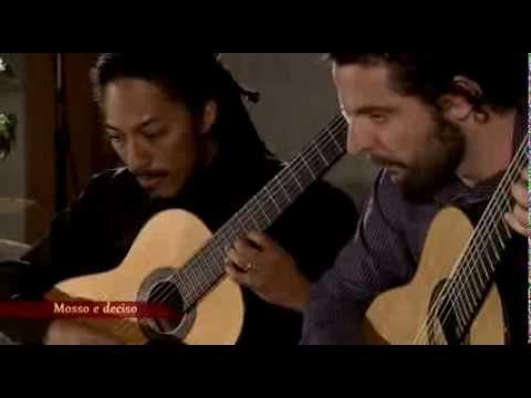 Brasil Guitar Duo plays Suite op.142 by Gerard Drozd