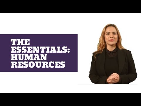 The Essentials: Human Resources