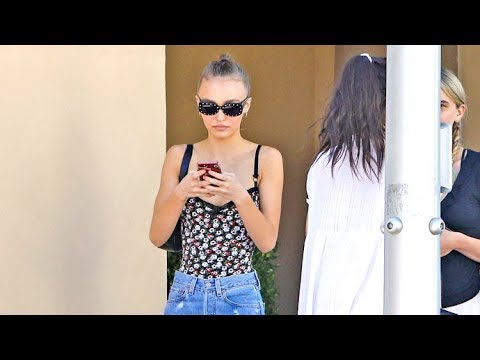 Lily-Rose Depp, 18, Dressing Sexier In Beverly Hills After Posing Topless For CR Magazine