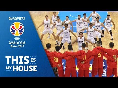 Tall Black's Haka vs. China ahead of FIBA Basketball World Cup 2019 Qualifier!