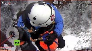 Rescate de a un excursionista atrapado en arenas movedizas de EE.UU.