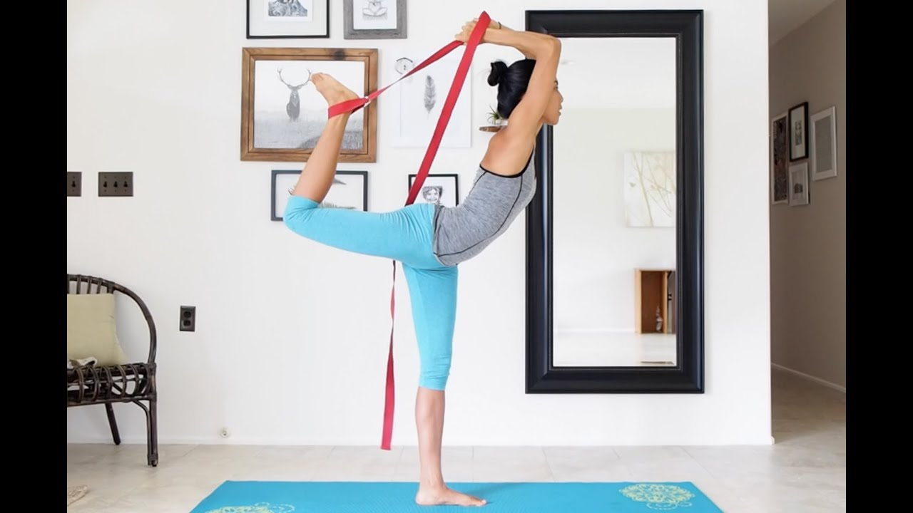 How To Use A Yoga Strap For Doing Advanced Poses