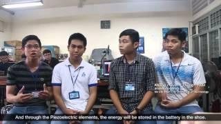 """[BK-OISP] Giày chuyển hóa năng lượng """"made in Vietnam"""""""