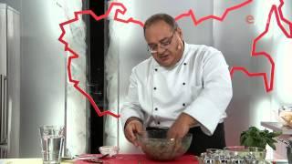 Хинкали с базиликом и перцем чили
