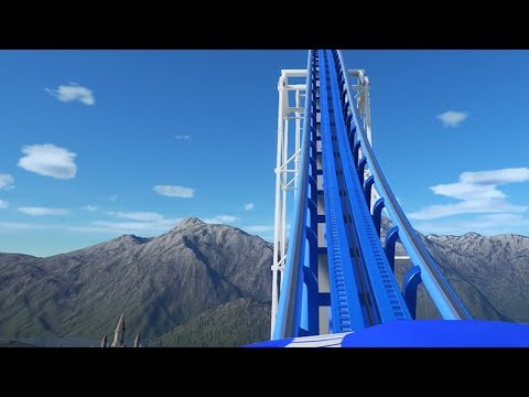 Building A Roller Coaster That Goes To Heaven In Planet Coaster
