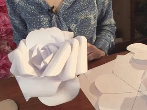 How To Produce Your Paper Rose Youtube