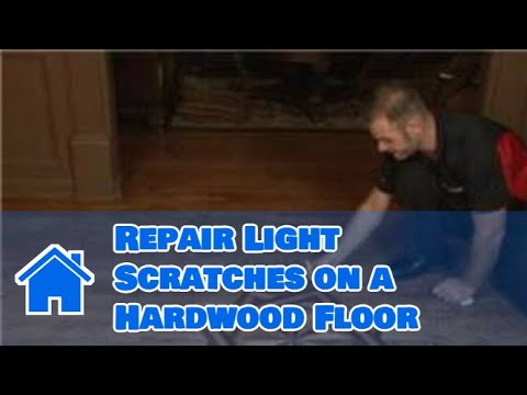 Flooring Tips  How to Repair Light Scratches on a