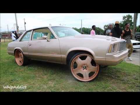 WhipAddict: 80' Chevrolet Malibu on brushed Rose Gold Forgiato Alneato 24s, Custom Paint & Interior
