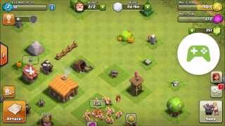 Clash of Clans continue first day COC