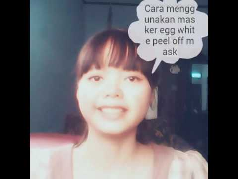 Cara menggunakan masker egg white peel off mask from YouTube · Duration:  2 minutes 25 seconds