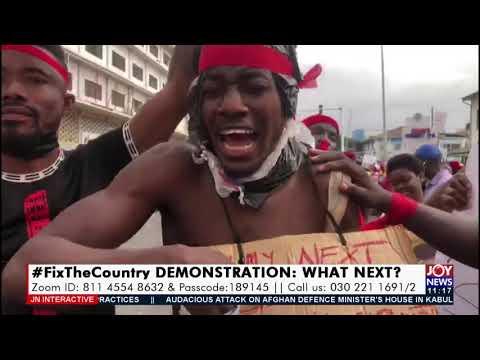 #FixTheCountry Demonstration: What Next? - JoyNews Interactive (5-8-21)