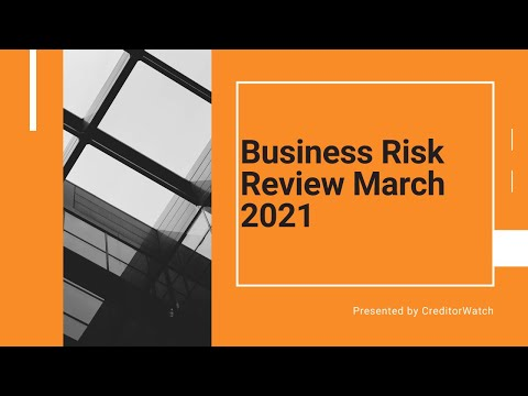 Business Risk Review March 2021