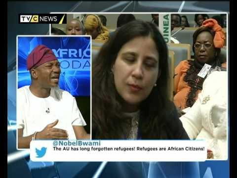 AFRICA TODAY ON AU SUMMIT WITH OLAYINKA OLA DANIELS AND AGAP