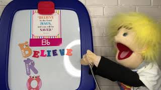 Puppet Shack: Vlogtober #2 Letter B Bible Verse with Wade