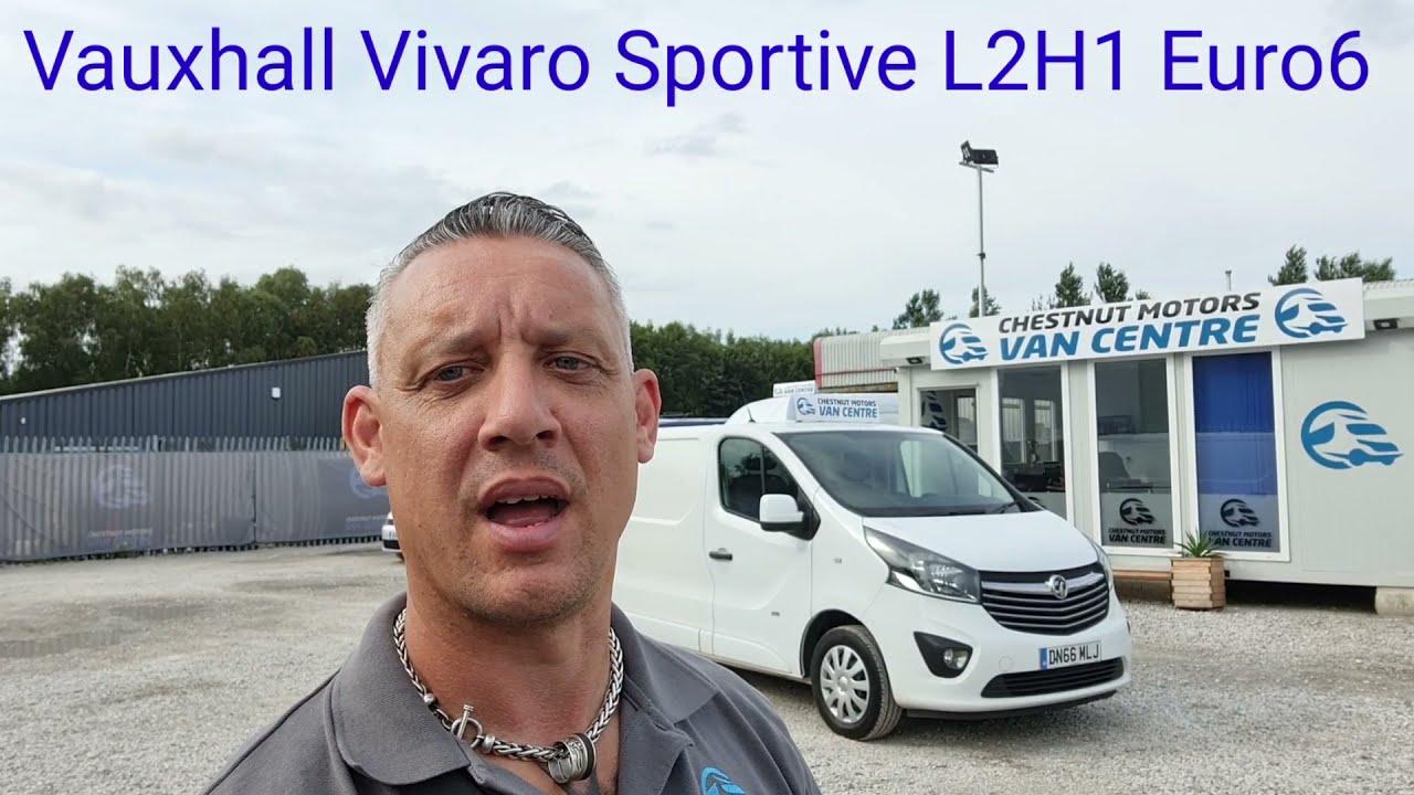 ULEZ Compliant Euro6 Vauxhall Vivaro Sportive Van For Sale L2H1 LWB Air Con Finance & Delivery