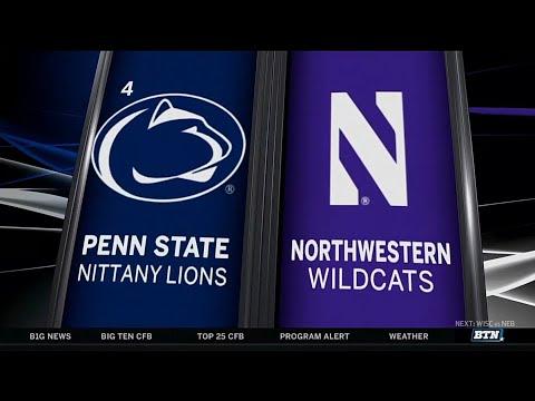 Penn State at Northwestern - Football Highlights