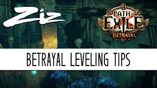 Ziz - Leveling Tips! Path of Exile 3.5: Betrayal