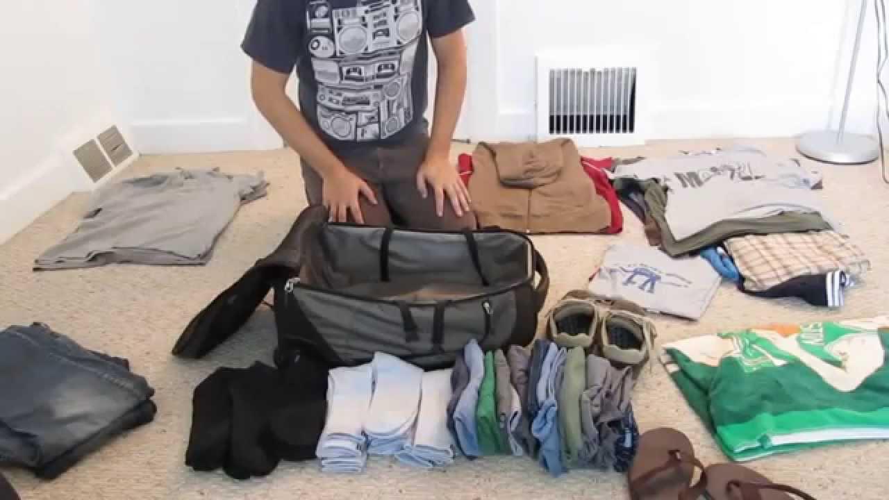 """Как быстро и компактно упаковывать чемодан инструкция от хостела в Липецке """"Пенаты"""""""