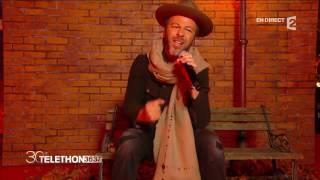 """Christophe Maé - """"Il est où le bonheur"""" - Téléthon 2016"""
